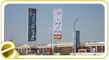 Pancartas, banderas y banderolas
